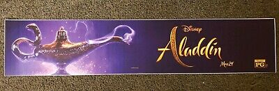 Aladdin 2019 5x25 Movie Theater Mylar Disney