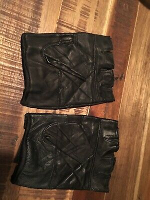 Mans Driving/ Biker Leather Gloves. 2 Two LEFT Gloves New