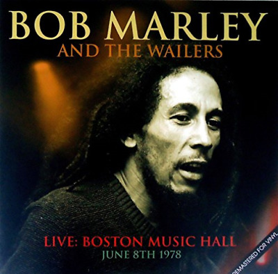 Bob Marley And The Wailers Live Album VINYL NEW