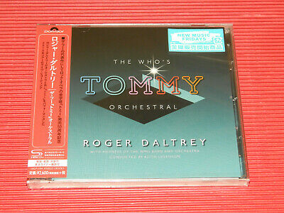 2019 Japan Only Shm Cd Roger Daltrey The Who's Tommy Orchestral 2018 Tour Live