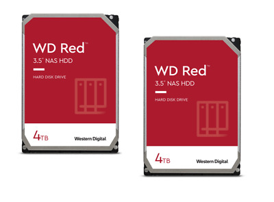 WD Red 2er Set WD40EFRX - 4TB 5400rpm 64MB 3.5zoll SATA600