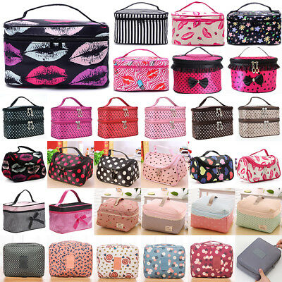 Women Cosmetic Makeup Bag Magic Pouch Large Travel Toiletry Storage Organizer AU