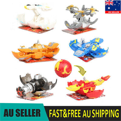 Bakugan Battle Planet 6 PCS Action Figure Collection Model Toys Gifts For Kids