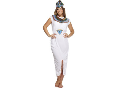 Ladies Queen Of The Nile Cleopatra Egyptian Princess Fancy Dress Costume