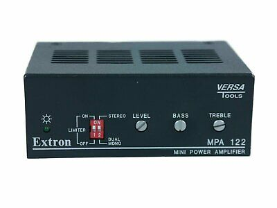 Extron Versa Tools MPA 122 Mini Power Amplifier Two Channel