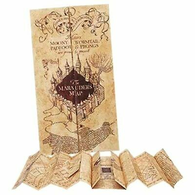 Harry Potter Hogwarts Marauders Map Collectors Prop Replica - Collection Noble