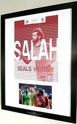 LIVERPOOL CHAMPIONS LEAGUE WINNERS 2019 Original Print Limited Edition Mo Salah