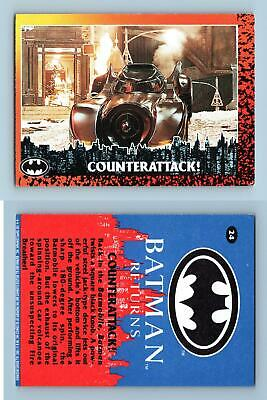 Counterattack!  #24 Batman Returns 1992 Topps Trading Card
