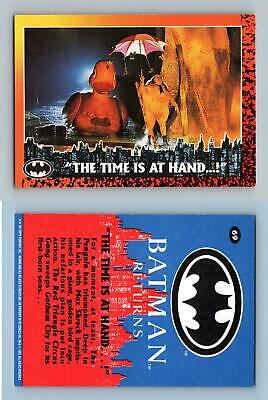The Time Is At Hand #69 Batman Returns 1992 Topps Trading Card