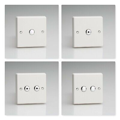 Varilight White Plastic V-Pro Touch & Remote Control LED IR Dimmer Switches