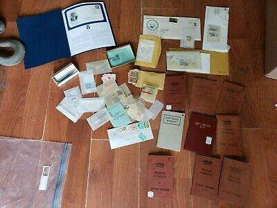 Antique / Vintage Stamp Collection~ Over 900 Stamps Mixed years ~ Free Ship!