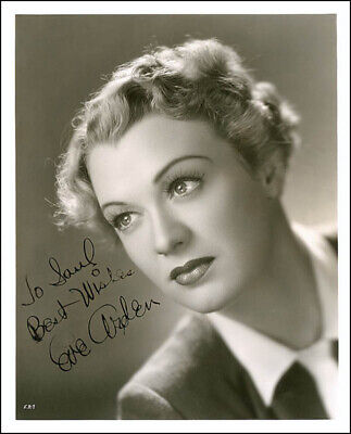 Eve Arden - Autographed Inscribed Photograph Circa 1939