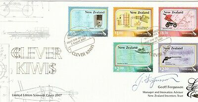 2007 Clever Kiwis  FDC Limited Edition Signed