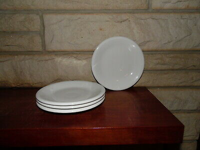 Fiesta 10.5 Dinner Plates White set of 4 NEW  Fiestaware
