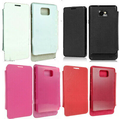 Front Flip Back Battery Cover Case For Samsung Galaxy S2 S II GT-i9100 i9100G