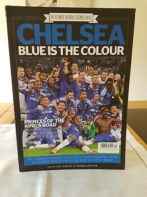 Magazine. Chelsea. Blue is the Colour. Ultimate Football Legends Series Issue 9