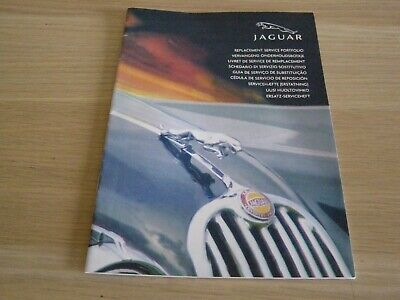 New Blank Genuine Jaguar Replacement Service Book S-Type X-Type Xj Xk X350