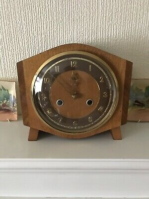 Stunning Smiths Art Deco Time And Strike Clock