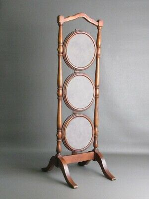 Vintage Tiered Display English Wooden 3 Tier Collapsible 86CM