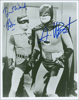 Batman Tv Cast - Autographed Signed Photograph With Co-Signers