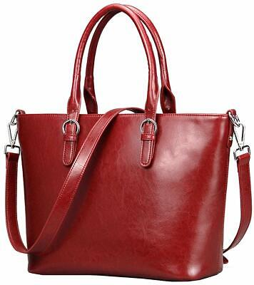 8a453a07f85 On Clearance Heshe Womens Handbag Leather Shoulder Cross Body Tote Bags  Satchel