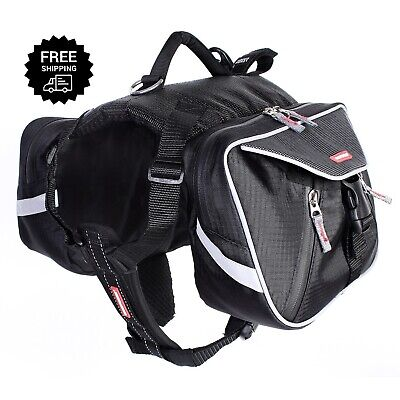 EzyDog Summit Dog Backpack Black X-Large Outdoor Pack BRAND NEW Outdoor Gear