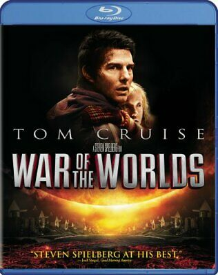 WAR OF THE WORLDS New Sealed Blu-ray Tom Cruise