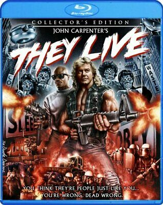 THEY LIVE New Sealed Blu-ray Collector's Edition John Carpenter