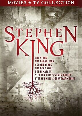STEPHEN KING MOVIES & TV COLLECTION New Sealed DVD 7 Features