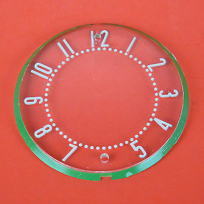 1958-1962 Corvette Clock Face With Numbers NEW 1959 1960 1961 58 59 60 61 62