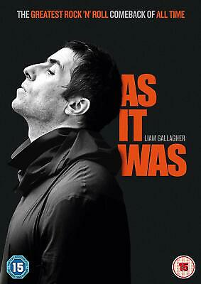 Liam Gallagher: As It Was New DVD / Free Delivery Oasis