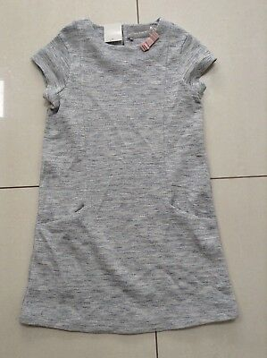 Girls Grey Dress with sparkly thread, Aged 11 from Next New with Tags