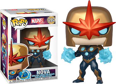 Funko Pop! Marvel - Nova Metallic #494 Exclusive