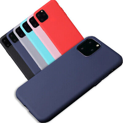 For Apple iPhone XR XS Max X Silicone Case Soft Slim Rubber Gel Thin Back Cover