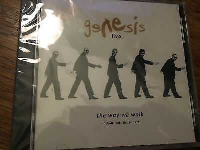 GENESIS LIVE The Way We Walk Vol. 1 CD The Shorts - Greatest Hits Live- NEW