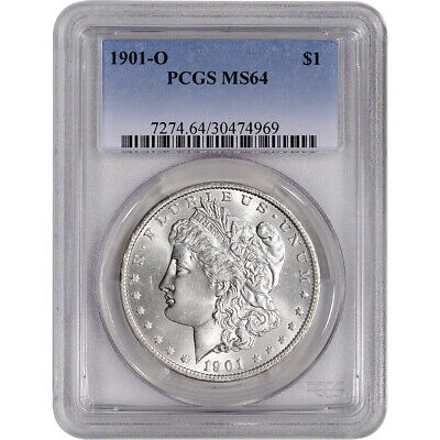 1901-O US Morgan Silver Dollar $1 - PCGS MS64