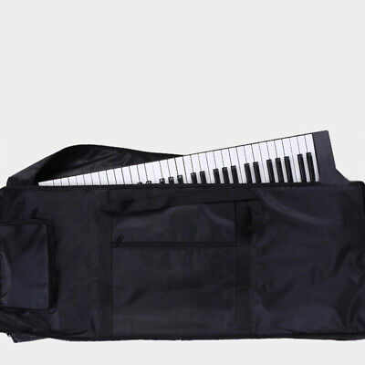 Thickened Instrument Keyboard Bag Black Carry For 61-key Piano keyboard 2018 New