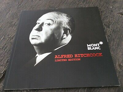 Montblanc Alfred Hitchcock Dealer Brochure Booklet Documents