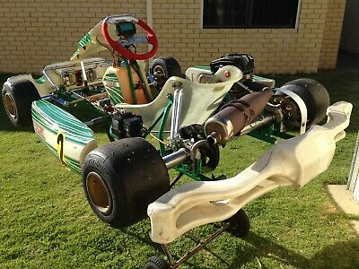 Tony Kart Racer EVRR rolling chassis c/w OTK 50mm axle
