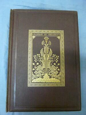 1868 Grammar Of Ornament Owen Jones 112 Plates Vgc