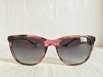 e4e001584 Emporio Armani EA4086 55538G Brown Cat Eye Sunglasses - NEW W/DEFECT