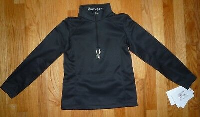 NWT 20 Girls Spyder Kids Girls/' Le Grande Velour Fleece T-Neck Shirt Size XXL