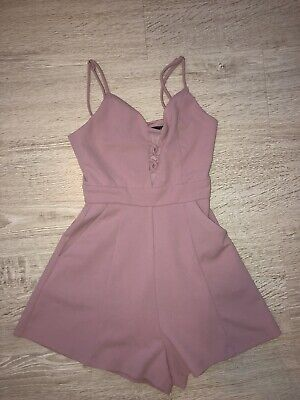 Coty Beach Ava And Ever Girls Pink Jumpsuit Size 10