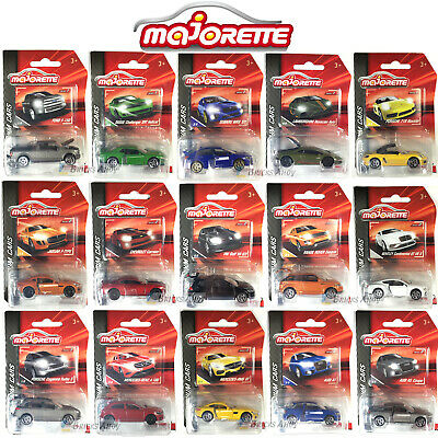 Majorette Premium Diecast 1:64 Cars Mercedes Porsche Audi & Others - You Choose