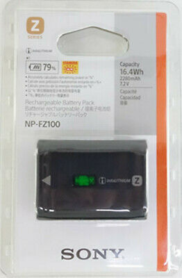 Sony NP-FZ100 Rechargeable Battery for ILCE 9 A9 A7RM3 A7RIII a7 III 2280mah