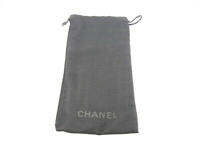 Chanel microfibre pouch in black suitable for sunglasses and spectacles-designer