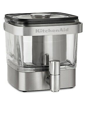 KitchenAid Cold Brew Coffee Maker KCM4212SX Brushed Stainless- NEW *See Details*