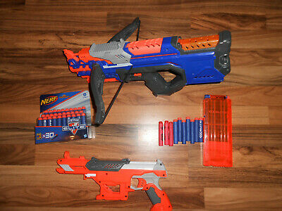 Hasbro Nerf N-strike Elite CrossBolt - A9317EU+AccuStrike Falconfire - B9839UE4