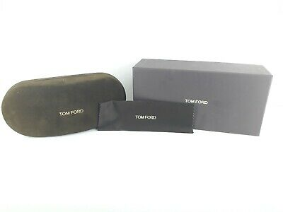 Tom Ford brown case comes with burguny presentaion box and matching cloth