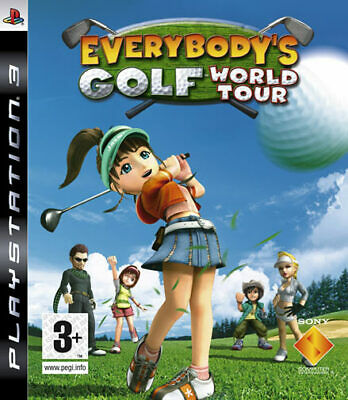 Everybody's Golf World Tour PS3 Playstation 3 SONY COMPUTER ENTERTAINMENT